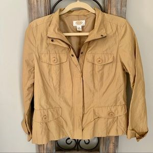 Tan Talbots Lightweight Utility Jacket
